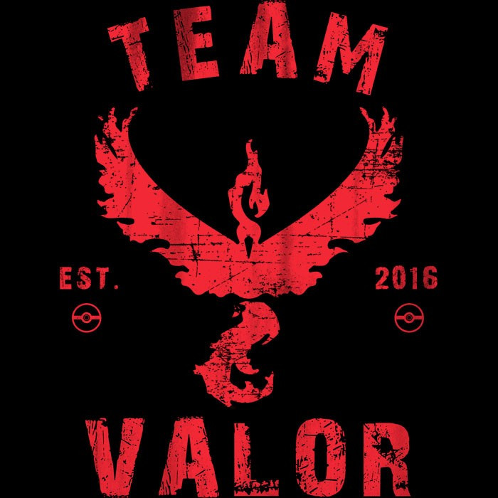 We Heart Geeks: Valor (Est. 2016) - Men's T-Shirt