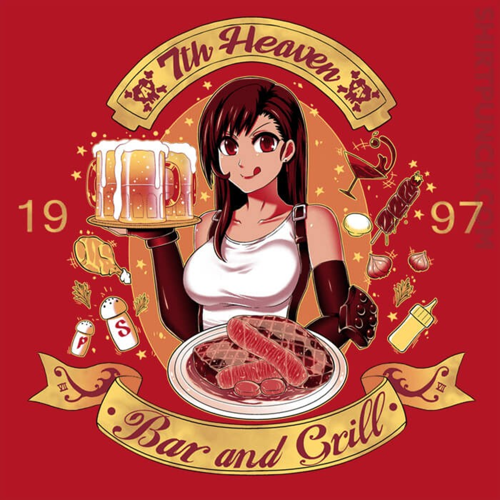 ShirtPunch: 7th Heaven Bar And Grill