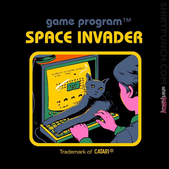 ShirtPunch: Space Invader