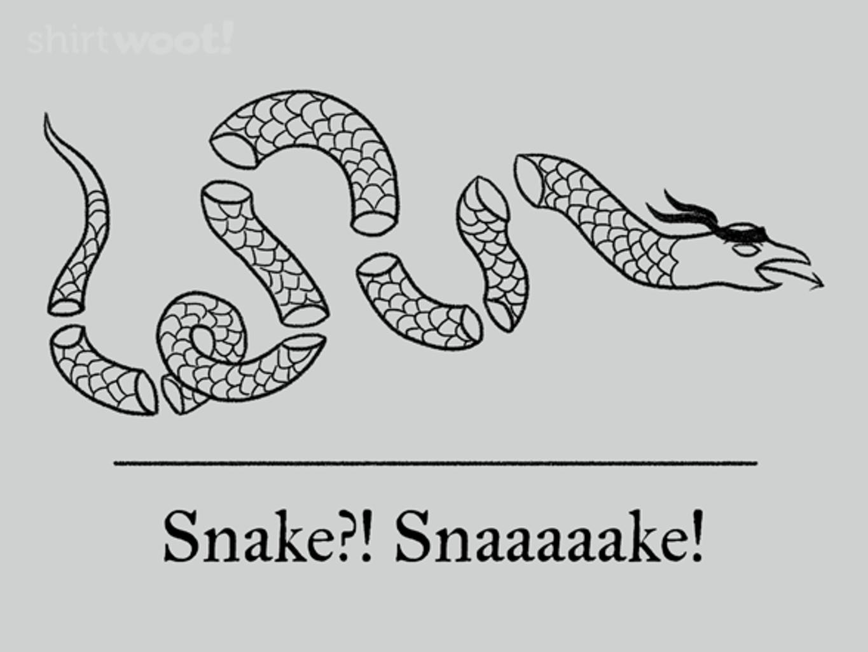 Woot!: Snaaaaake!