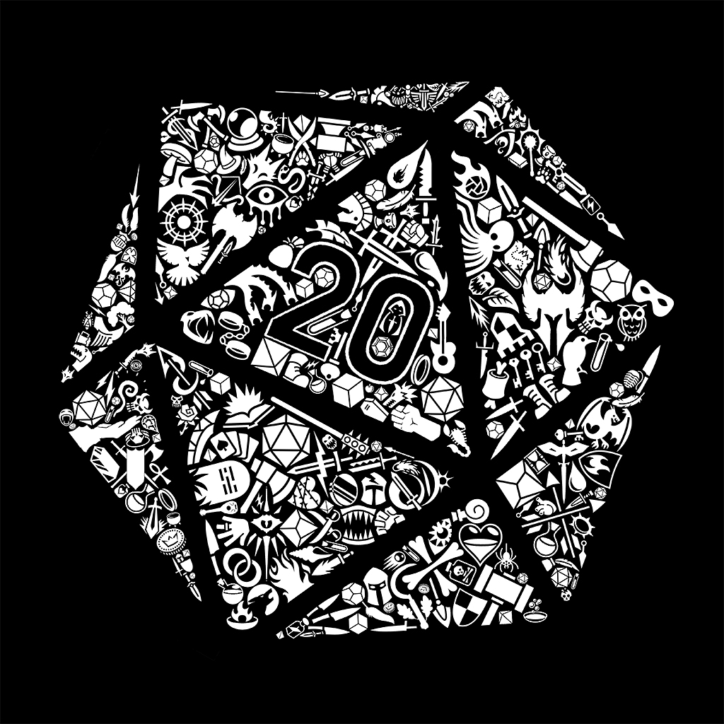 TeeTee: Mosaic D20