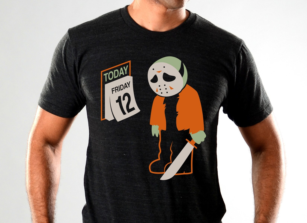 SnorgTees: Friday the 12th Limited Edition Tri-Blend
