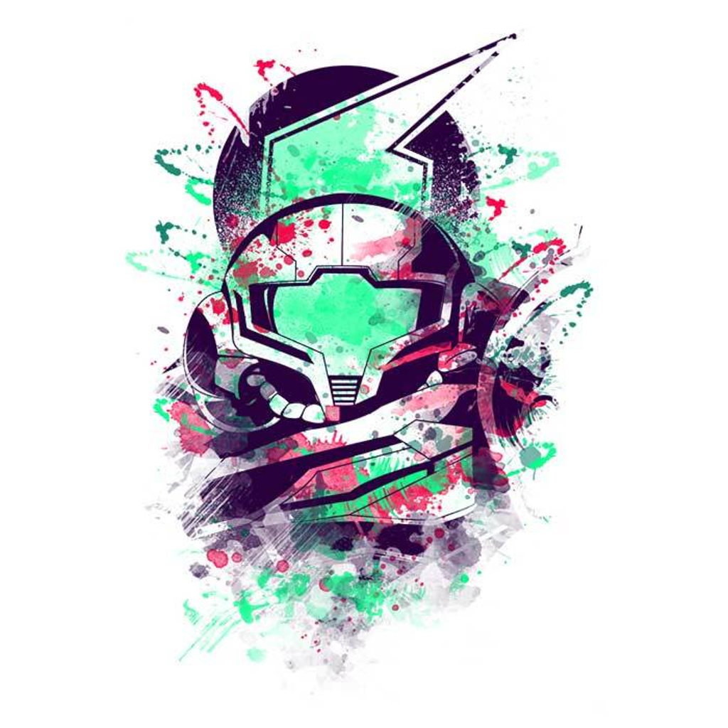Once Upon a Tee: Watercolor Bounty Hunter