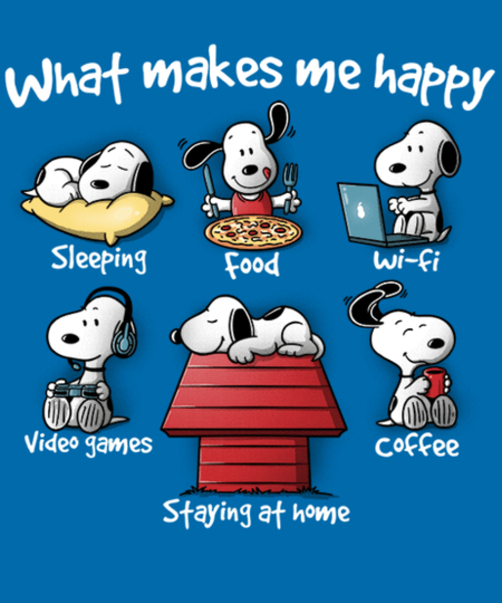 Qwertee: What makes me happy