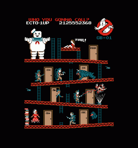 BustedTees: Donkey Puft