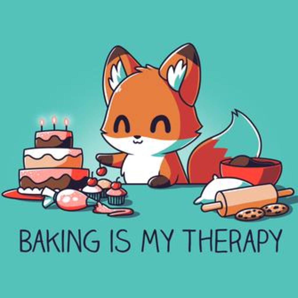 TeeTurtle: Baking Is My Therapy