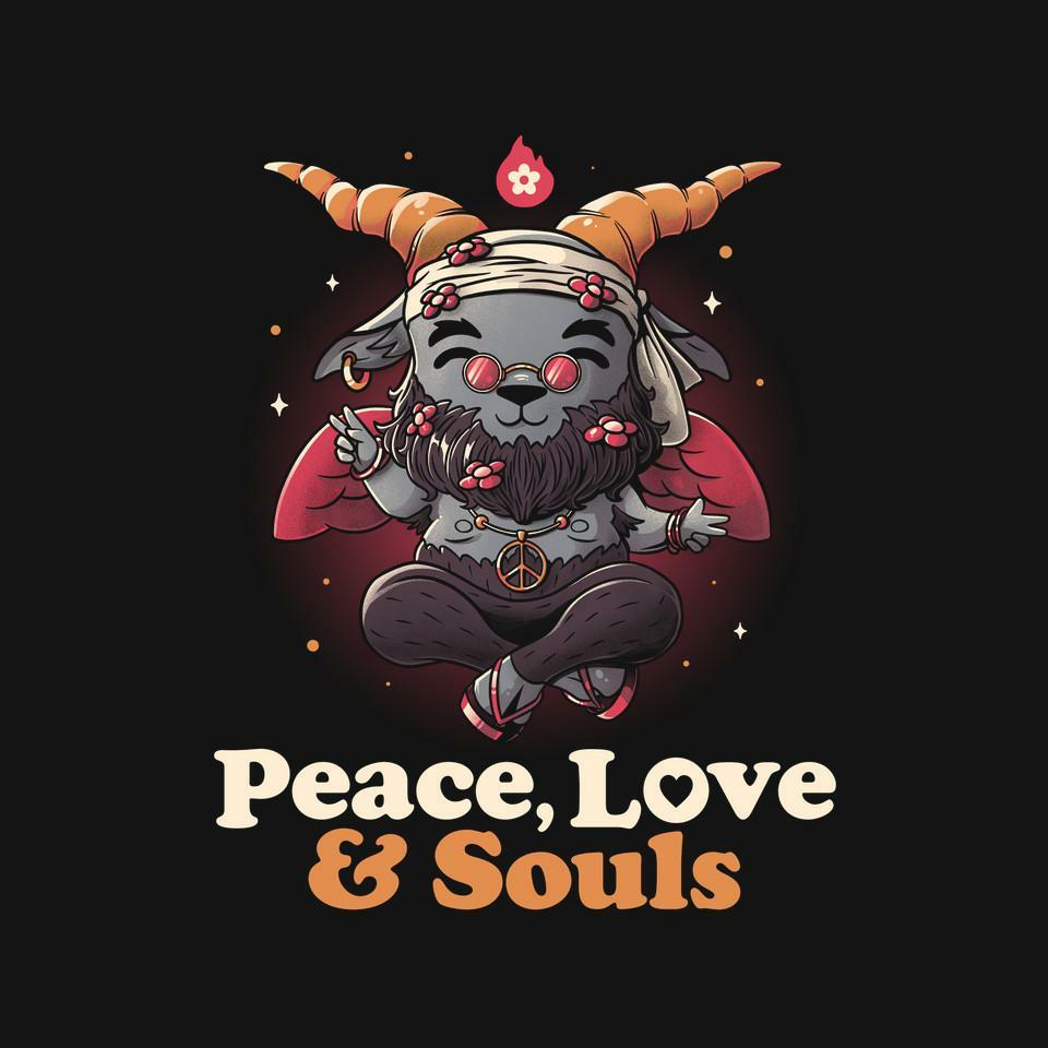 TeeFury: Peace, Love And Souls