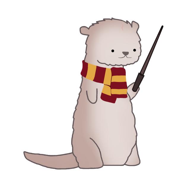 TeePublic: Harry Pawter Otter