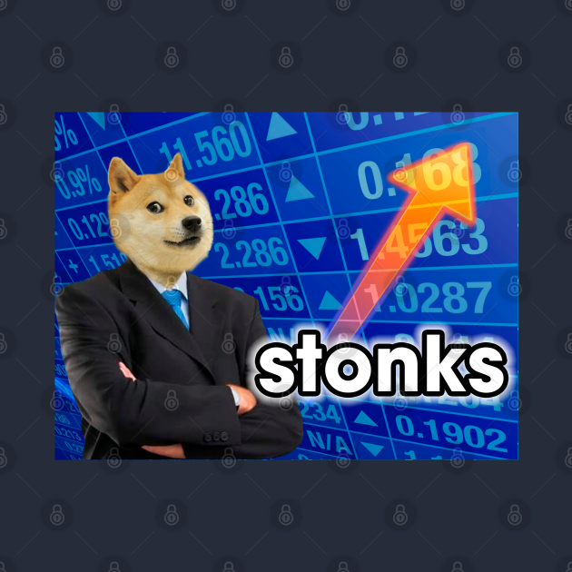 TeePublic: Doge Stonks