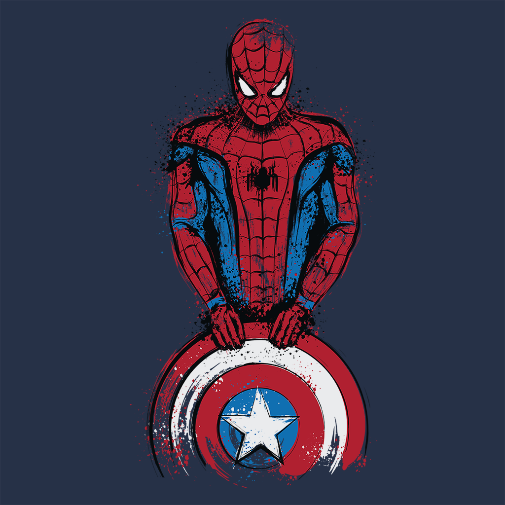 Pop-Up Tee: The Spider is Coming