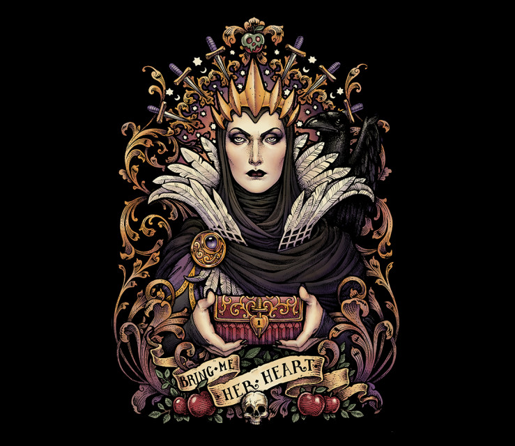 TeeFury: Queen of All Evil