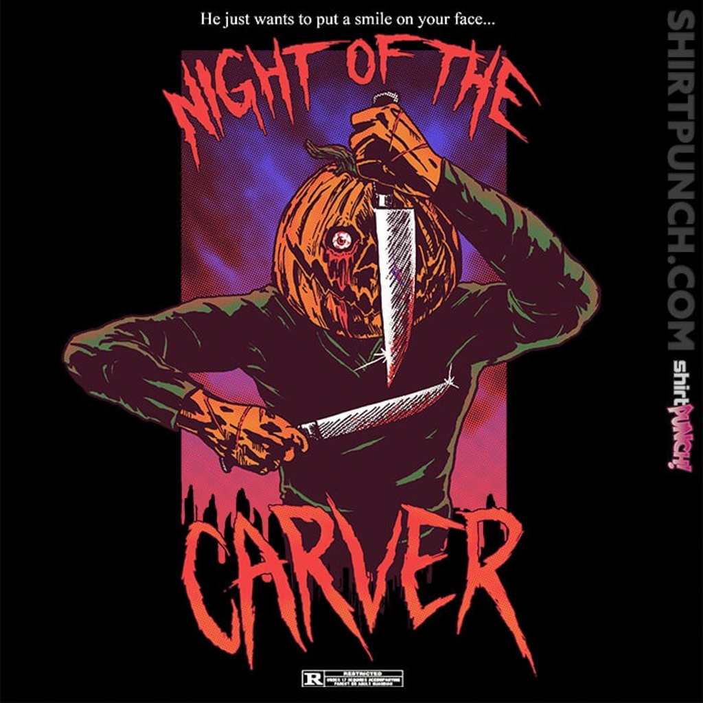 ShirtPunch: Night Of The Carver