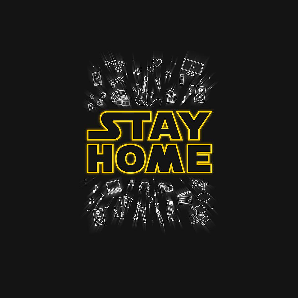 TeeFury: Stay Home