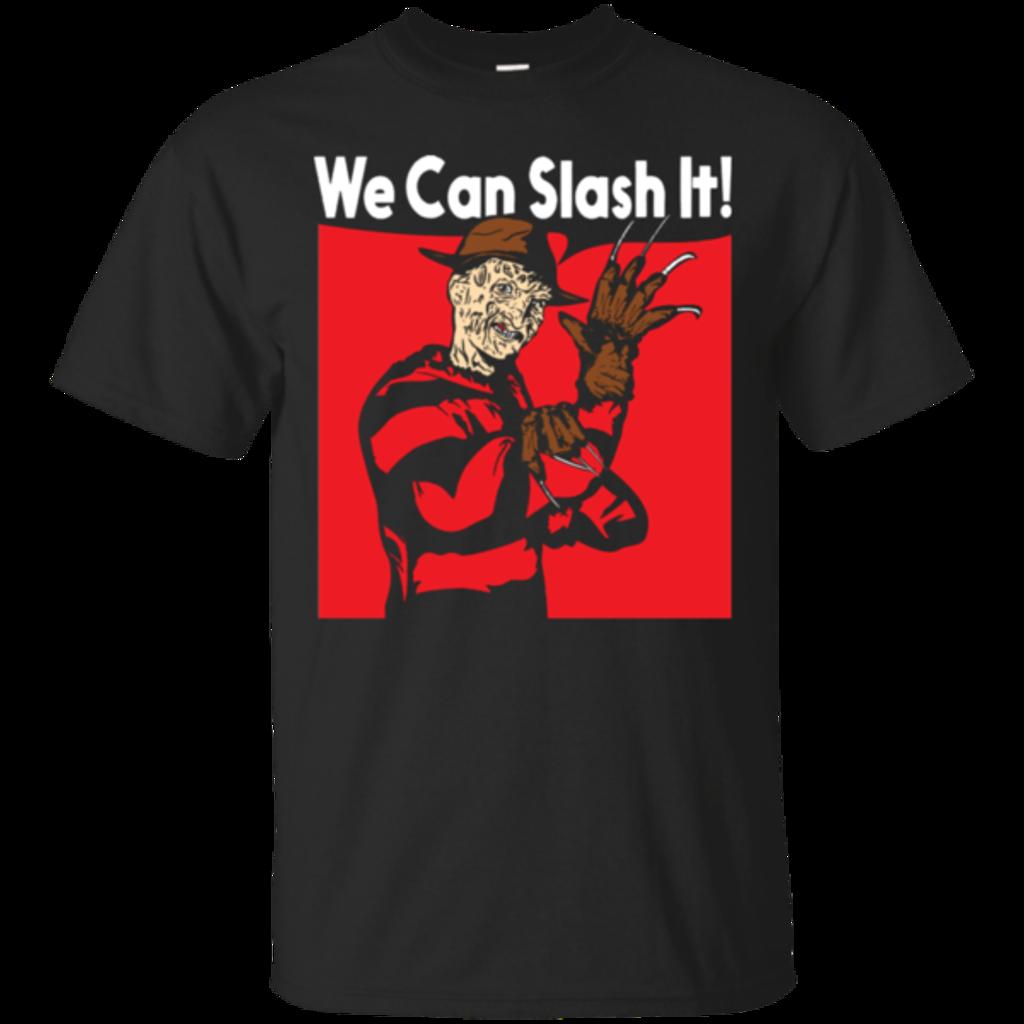 Pop-Up Tee: We Can Slash It!