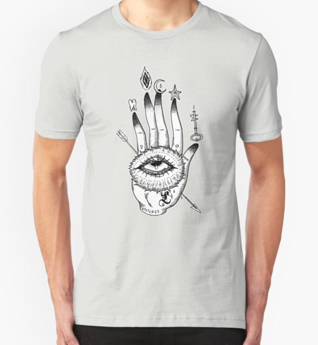 RedBubble: Hand of Mysteries