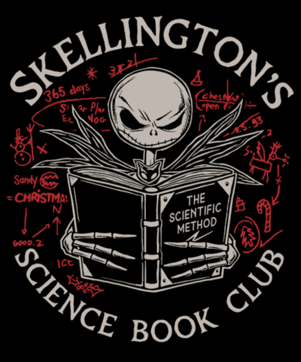 Qwertee: Science Book Club