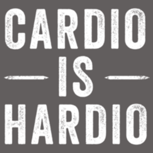 Textual Tees: Cardio Is Hardio