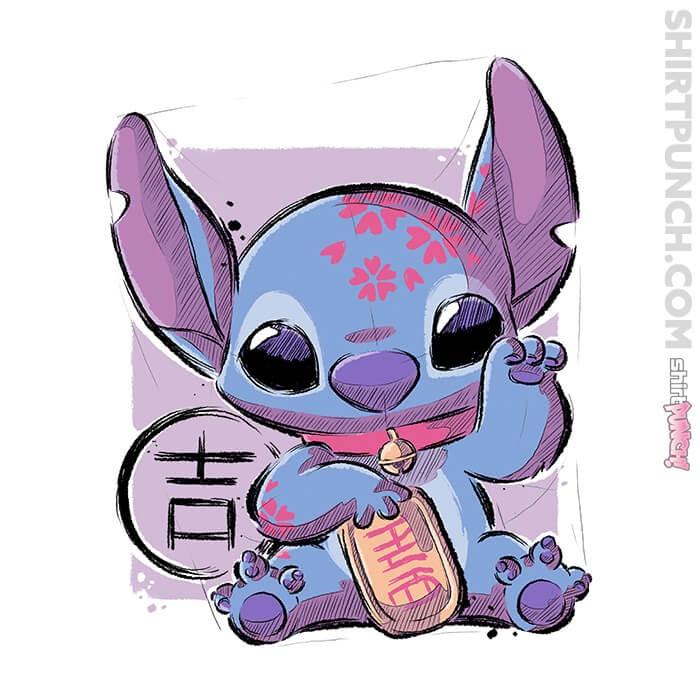 ShirtPunch: Maneki Stitch