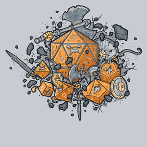 Pop-Up Tee: RPG UNITED