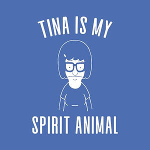 Five Finger Tees: Tina Is My Spirit Animal T-Shirt