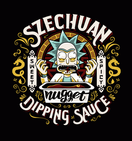 BustedTees: Nugget Sauce