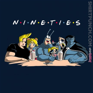 ShirtPunch: Nineties Friends