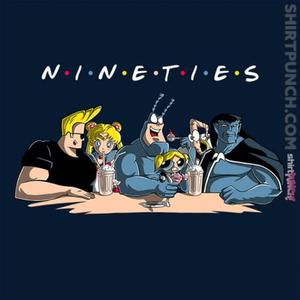ShirtPunch: Nineties Friends
