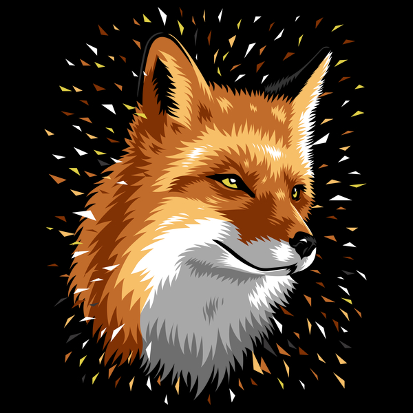 NeatoShop: Fox Geometric colors
