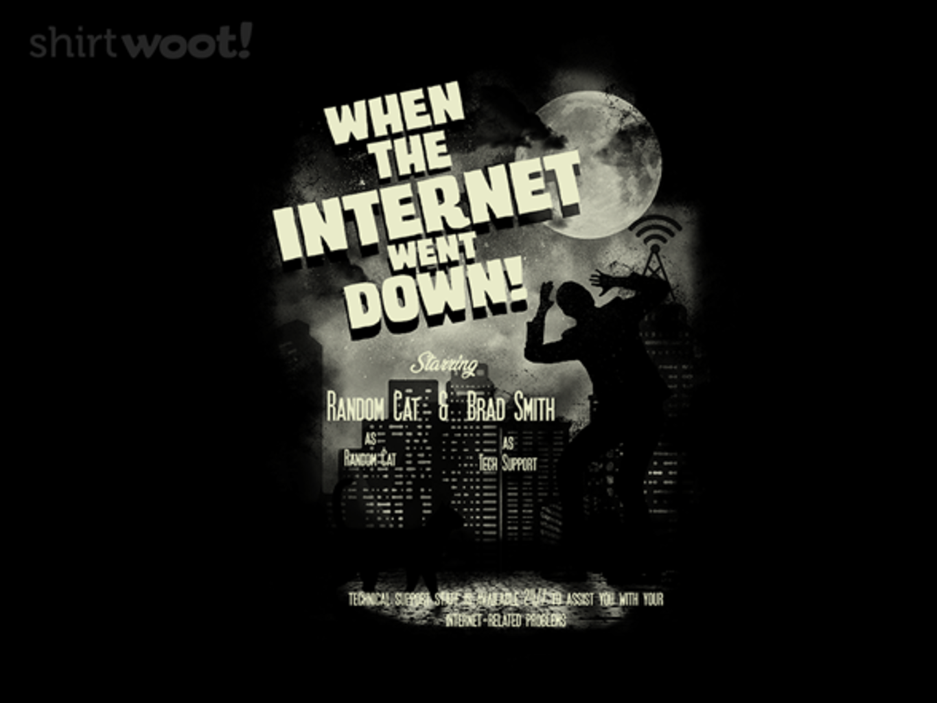 Woot!: The Internet Went Down