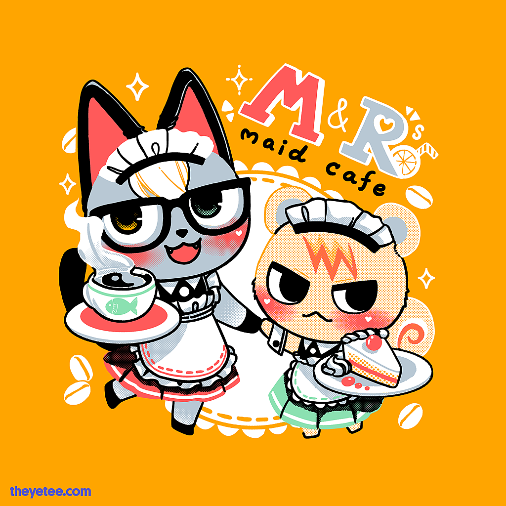 The Yetee: M & R Maid Cafe