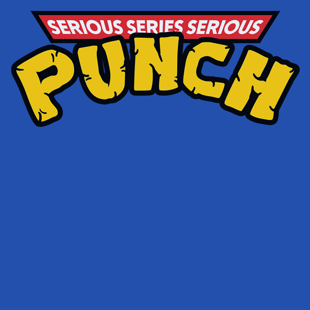 Pop-Up Tee: Serious Punch