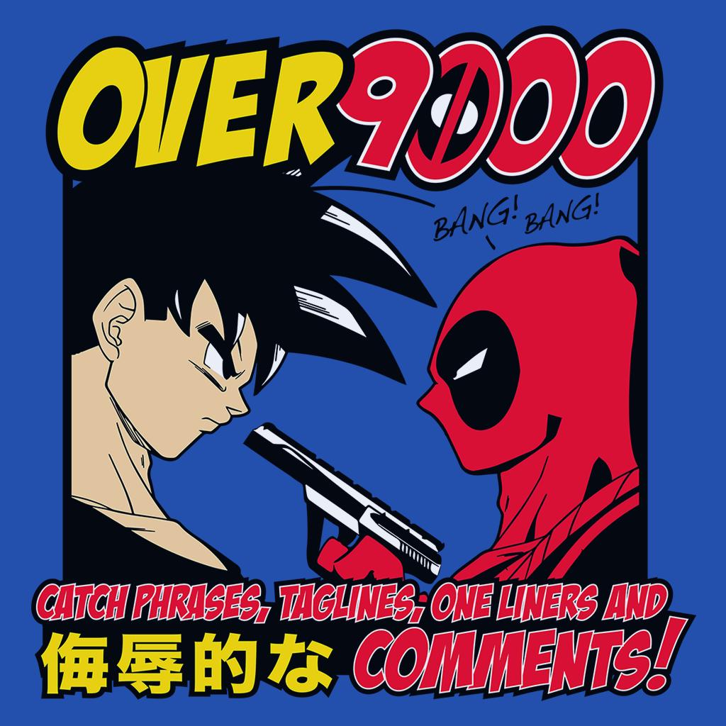 Pop-Up Tee: Over 9000