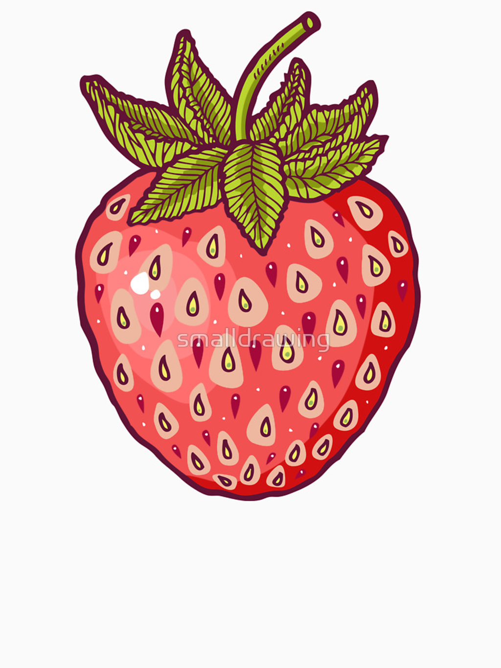 RedBubble: strawberry fields