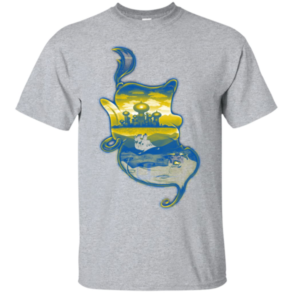 Pop-Up Tee: Aladdin Silhouette