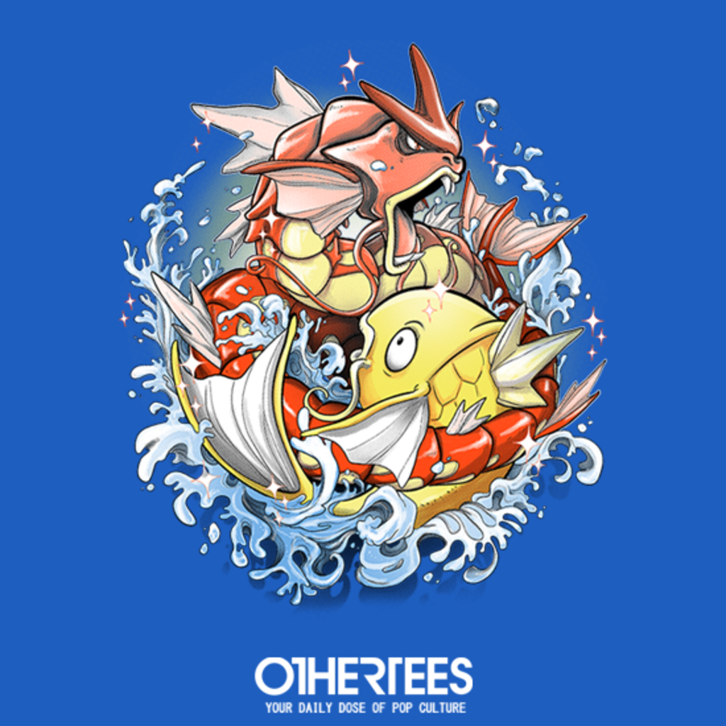 OtherTees: Shining Splash-Koi