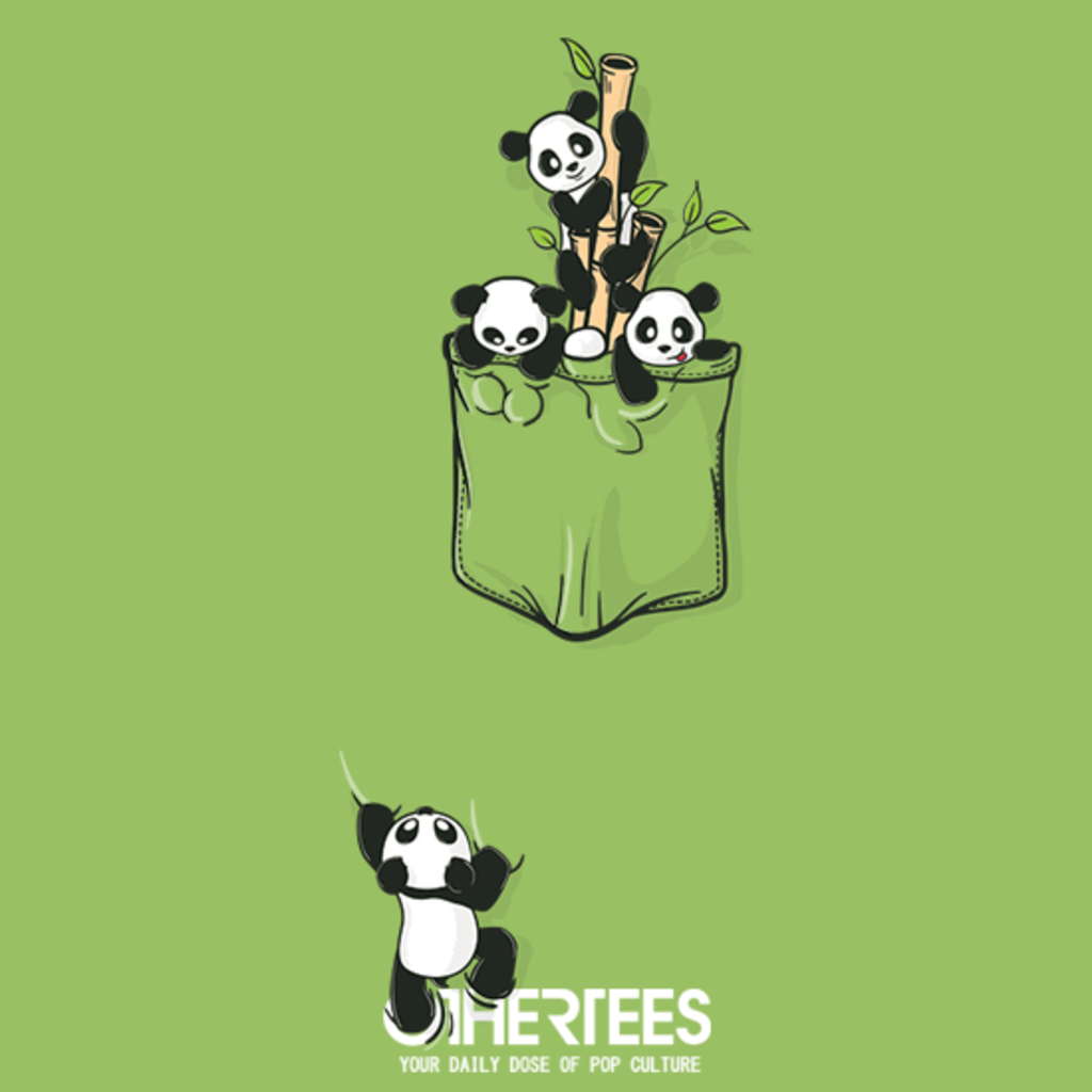 OtherTees: Pocket Pandas