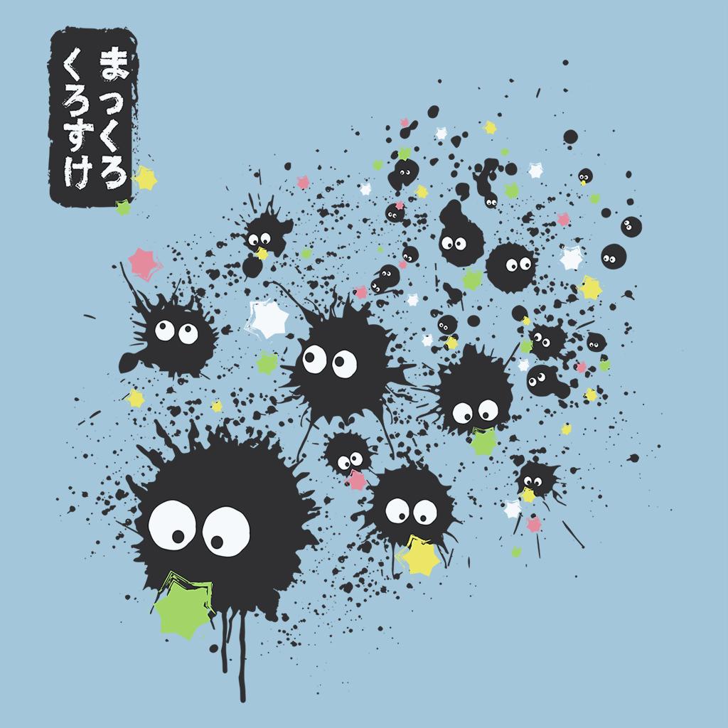 Pop-Up Tee: Makkuro Kurosuke Ink