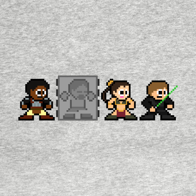 TeePublic: 8-bit Return of the Jedi
