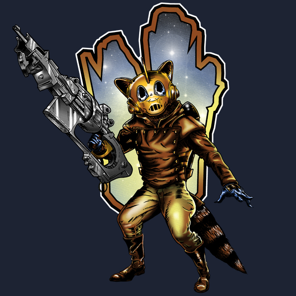GraphicLab: The Racoonteer