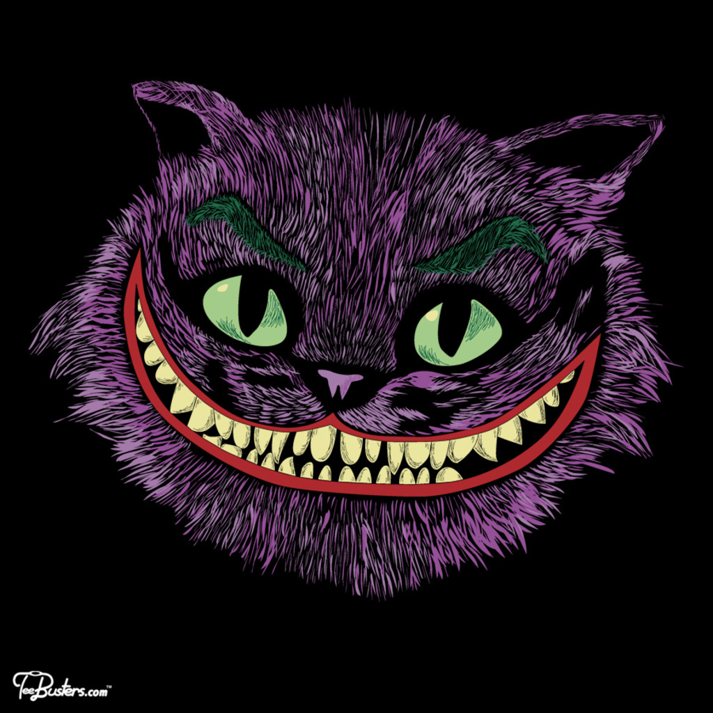 TeeBusters: Cheshire Joker head
