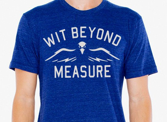 SnorgTees: Wit Beyond Measure Limited Edition Tri-Blend