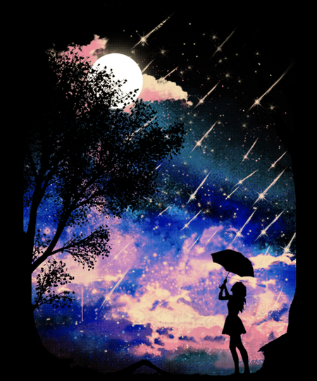 Qwertee: Meteor Shower