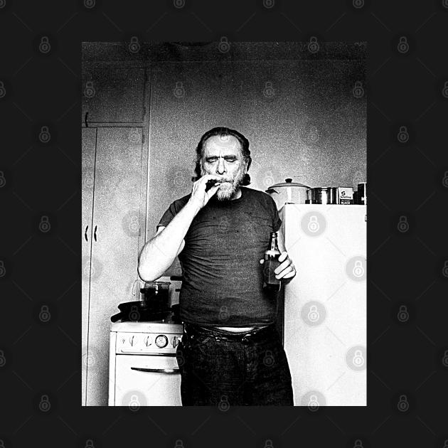 TeePublic: Charles Bukowski ))(( Poet and Novelist Fan Design