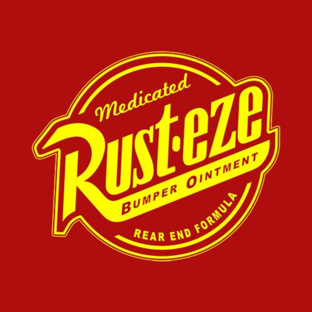 Five Finger Tees: Rust-eze Bumper Ointment T-Shirt