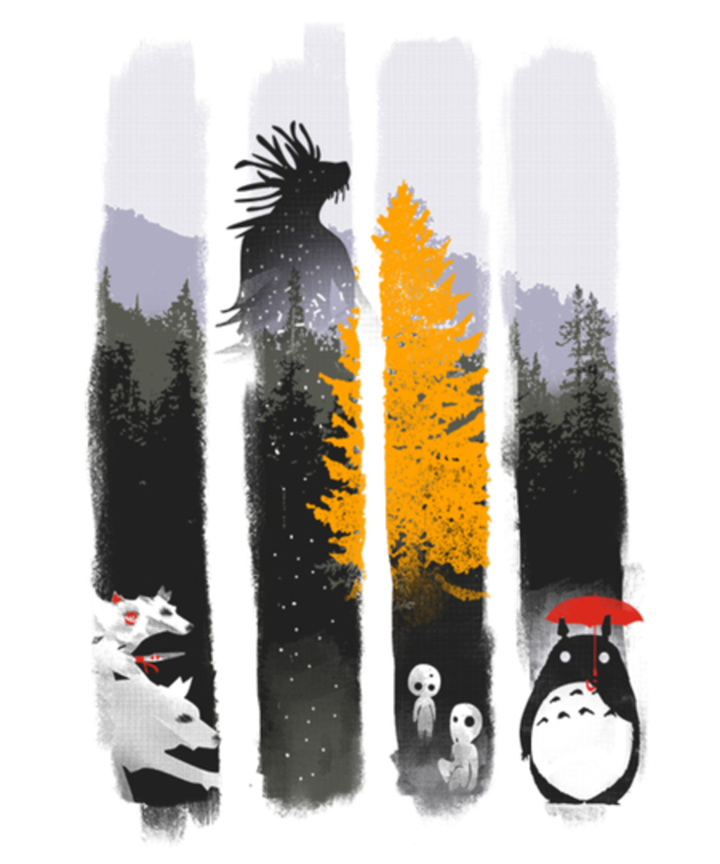 Qwertee: Forest Protectors