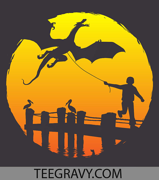 Tee Gravy: Fly a Kite or Walk the Dragon