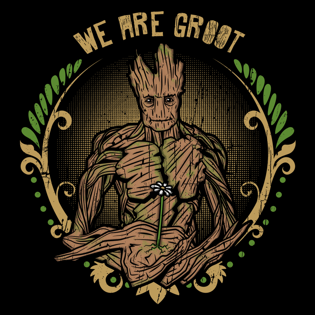Pop-Up Tee: We are Groot