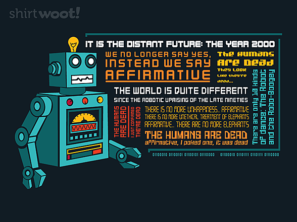 Woot!: The Humans Are Dead
