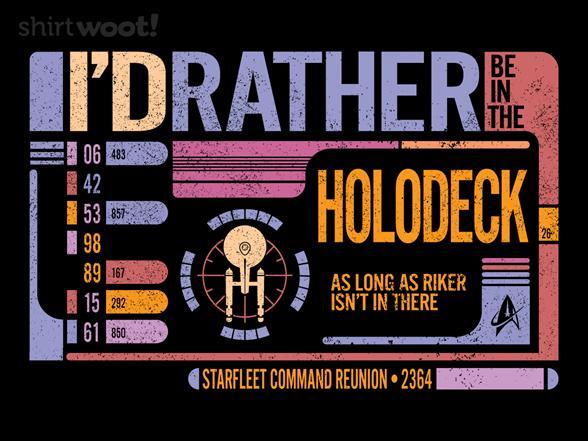 Woot!: Holodeck Reunion