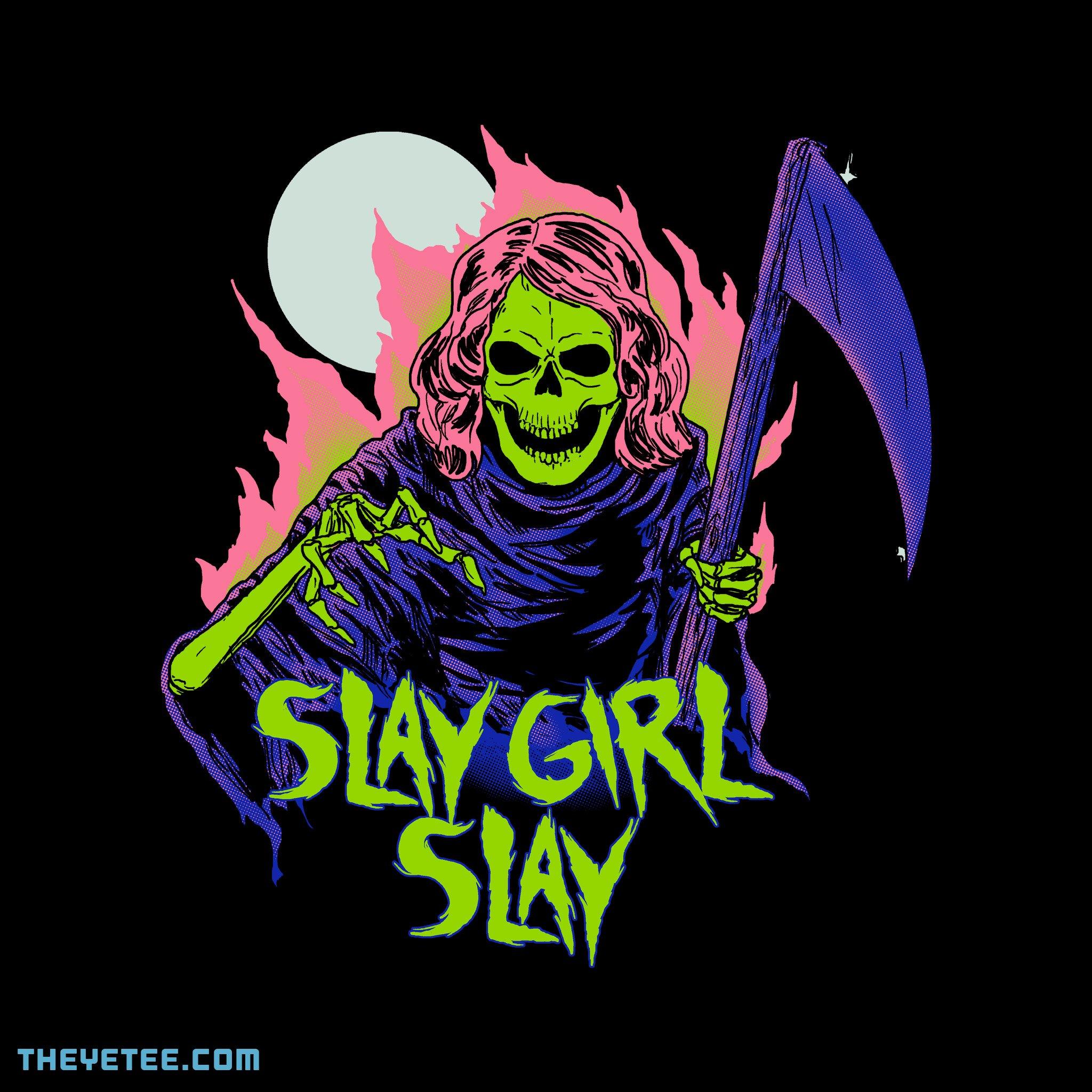 The Yetee: Girl Reaper